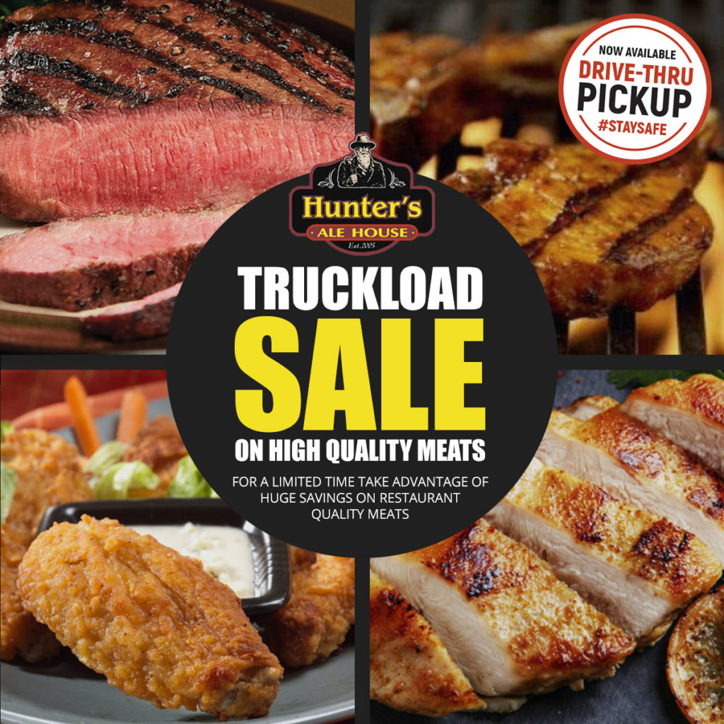 Hunter's Ale House Truckload Sale!