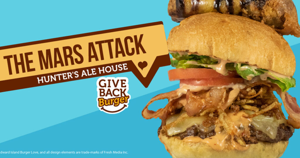 PEI Burger Love: The Mars Attack